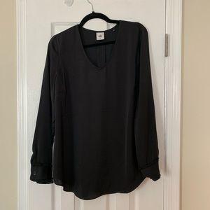 CAbi black long sleeve top, M BRAND NEW
